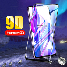 9D Full Glue Screen Protector Tempered Glass For Huawei Honor 9X / 9X Pro Protective Glass On Honor9X X9 Toughened Film Cover