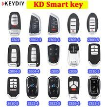 Universal KD chave Inteligente remoto KEYDIY ZB01 ZB02 3 ZB02 4 ZB03 ZB04 ZB05 ZB06 ZB10 ZB22 ZB26 ZB28 para KD X2 gerador de chaves