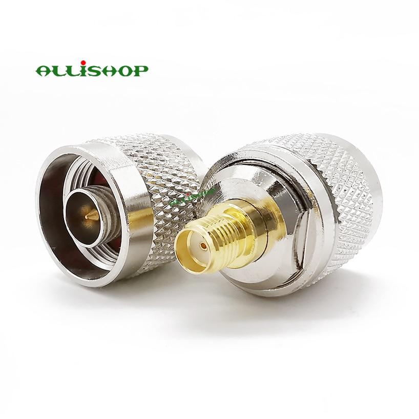 5PCS N Type Male Plug To BNC Female Jack Straight Coaxial RF Connector High Qua