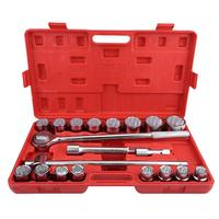 21pcs 3/4 Standard Drive Socket Wrench Spanner Set Car Truck Repair Tools Sockets Wrench Set