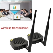 50m Wireless Transmission HDMI compatible Extender Transmitter Receiver Video Converter Laptop PC To Monitor TV HDTV Projector