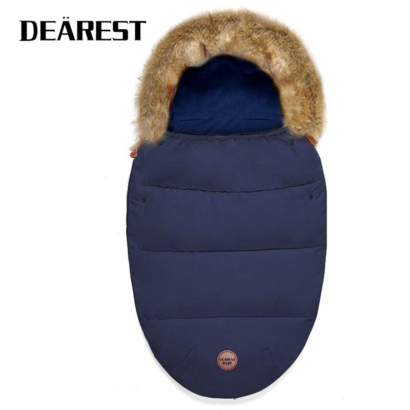 Winter New Born Baby Items Sleeping Bag Blanket Envelop Warmer Dearest