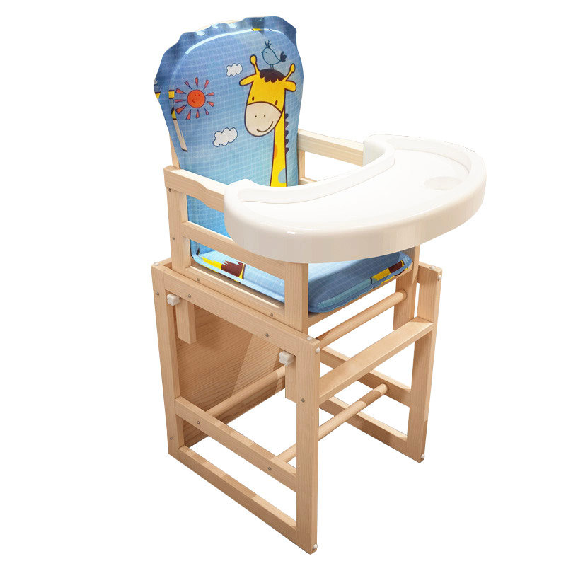 511 Children Dining Chair Solid Wood Child Seat Multi-functional Baby Chair Baby Chair Support A Generation Of Delivery