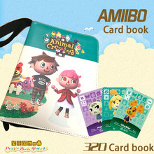 Libro de colección de cartas de Animal Crossing para niños, colección de 320 tarjetas de animales coleccionables, juego de colección de cartas de Anime