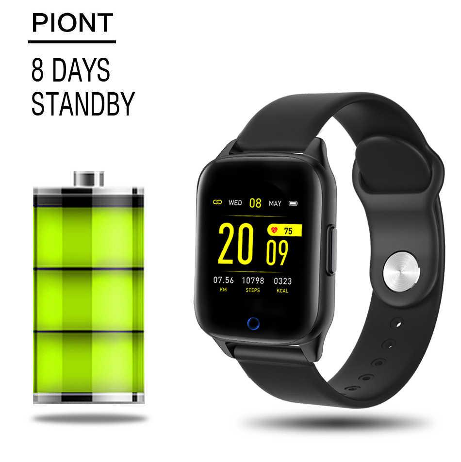 """חכם צמיד אק""""ג + PPG גשש כושר קצב לב לחץ דם IP67 עמיד למים מזג אוויר תחזית ספורט חכם להקת שעון גברים"""