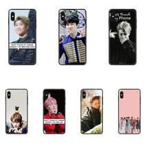 TPU Patterns For Samsung Galaxy A5 A6 A7 A8 A10 A10S A20 A20S A20E A30S A40 A50 A70 A71 A70E Korea Star Dont Touch Me(China)