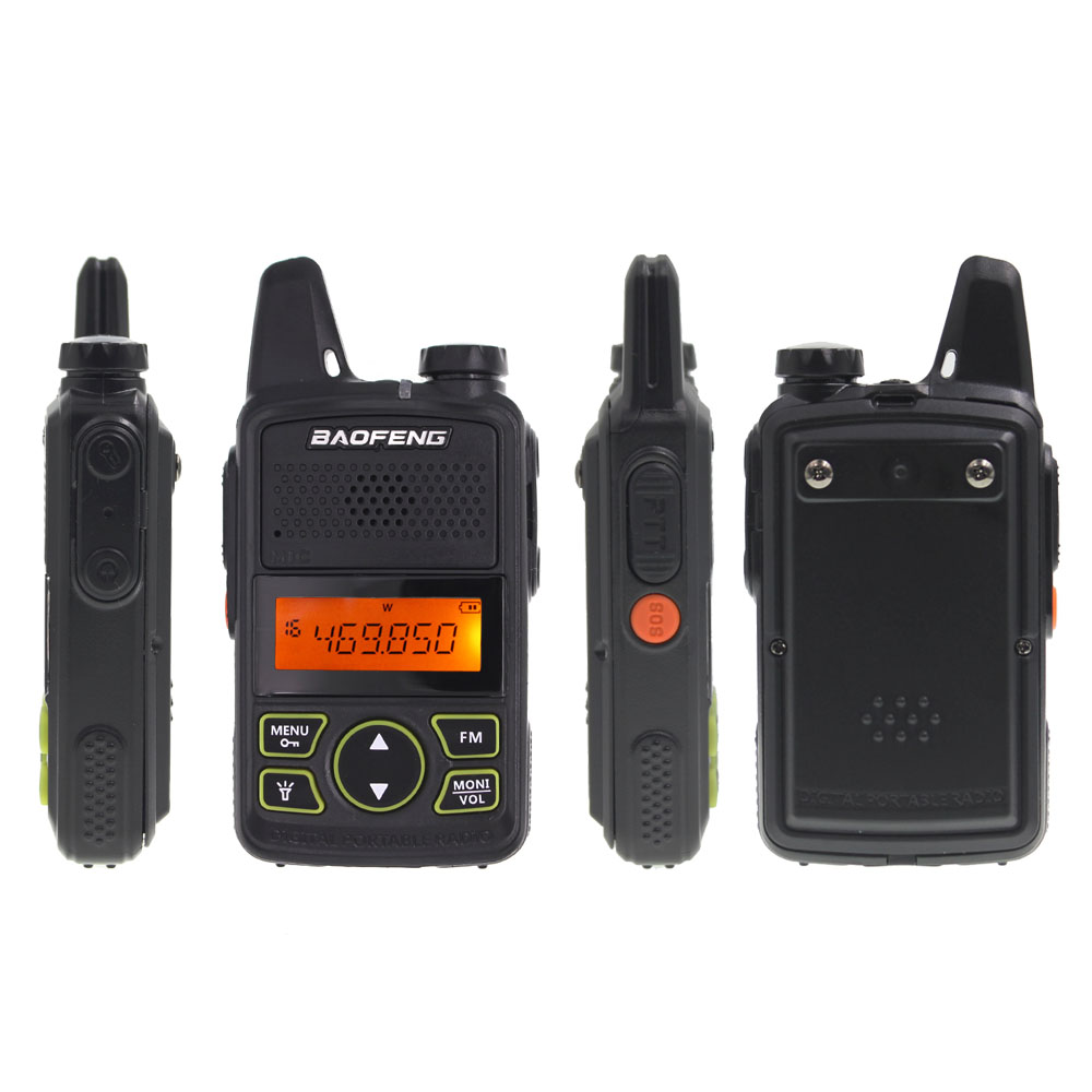 Image 3 - 2pcs/lot BAOFENG T1 MINI Two Way Radio BF T1 Walkie Talkie UHF 400 470mhz 20CH Portable Ham FM CB Radio Handheld Transceiver-in Walkie Talkie from Cellphones & Telecommunications