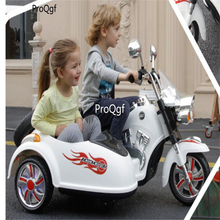Ngryise 1 комплект Детский Электрический мотоцикл может занять два сиденья, рекомендуемый для детей от 3 до 8 лет