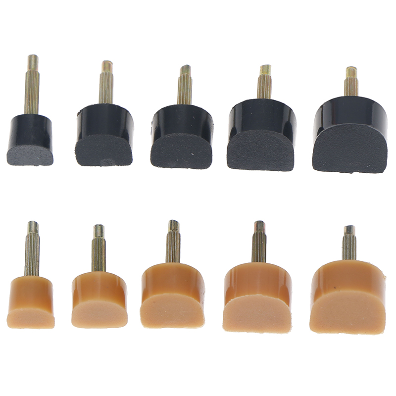 10pcs=5pairs High Heel Repair Tips PinsHigh Heel Tips Taps Dowel Lifts Women Shoes Replacement Heel Stoppers Protect