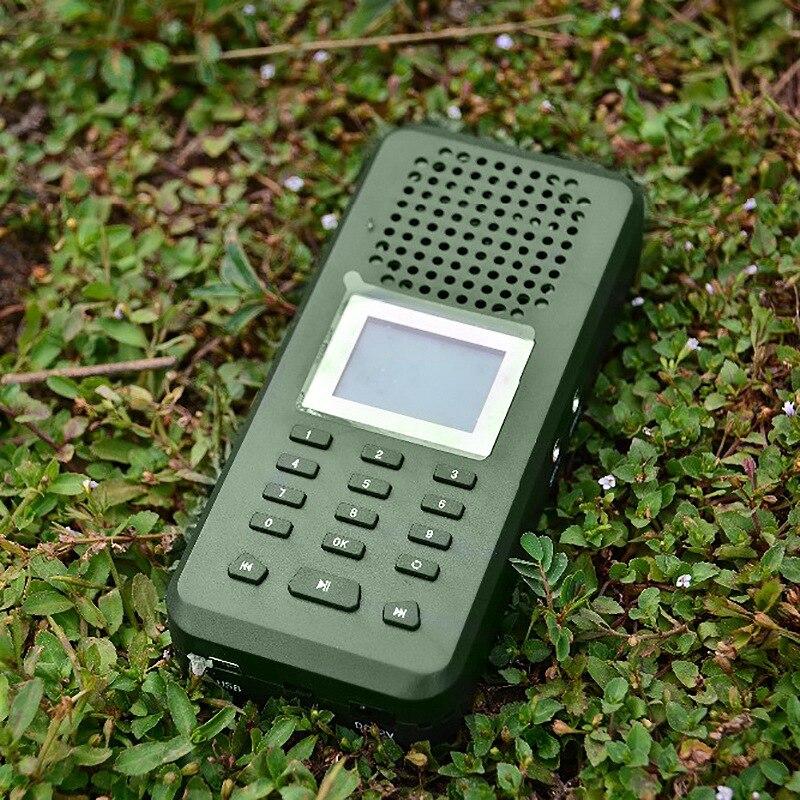 20W 126Db Bird Caller Decoy Mp3 Player Loud Speaker Eu Plug