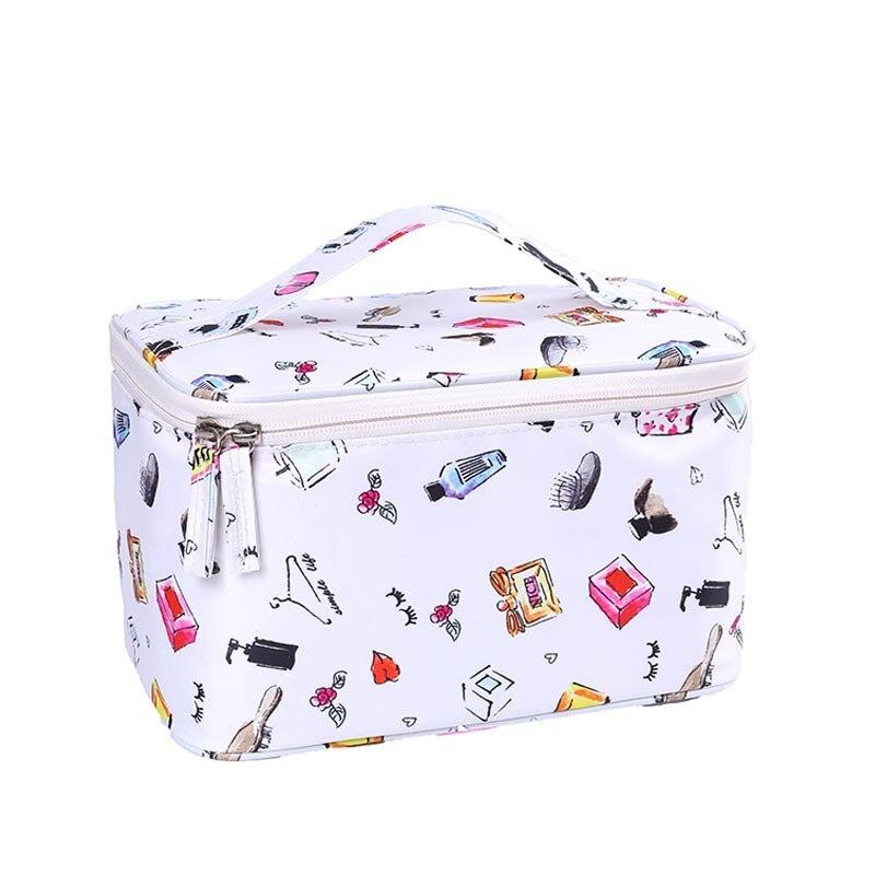 New Large-capacity Travel Storage Bag Fashion Portable Cosmetic Bag Handbag Travel Cosmetic Storage Bag