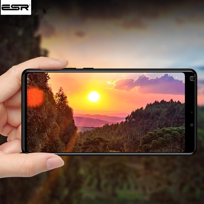 ESR Xiaomi Mi Mix 2s Glass Tempered Screen Protector For Xiaomi Mi Mix 2s 3D 9H Anti Blu-ray Screen Glass Film Mix 2 Glass