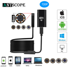 Antscope  8mm Wifi Endoscope HD Camera for Android iPhone Borescope 2 5 10M 720P Endoscope Inspection Pipe Waterproof Camera 19