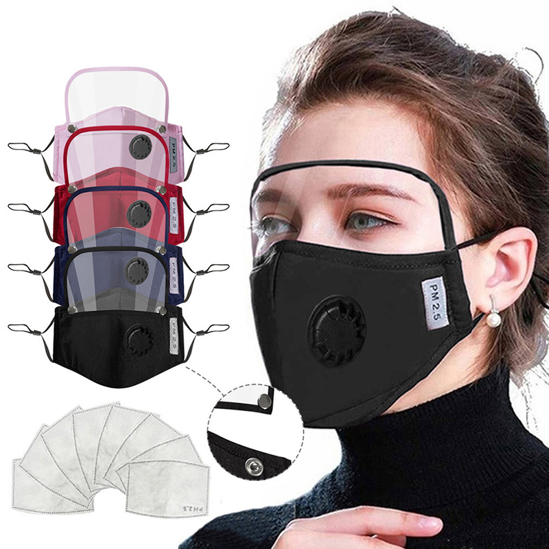 Removable Masks for Adult Cotton Mouth Masks Face Eyes Protection for virus Filter Multiple Harmful Substance Washable Face Mask|Masks|   - AliExpress