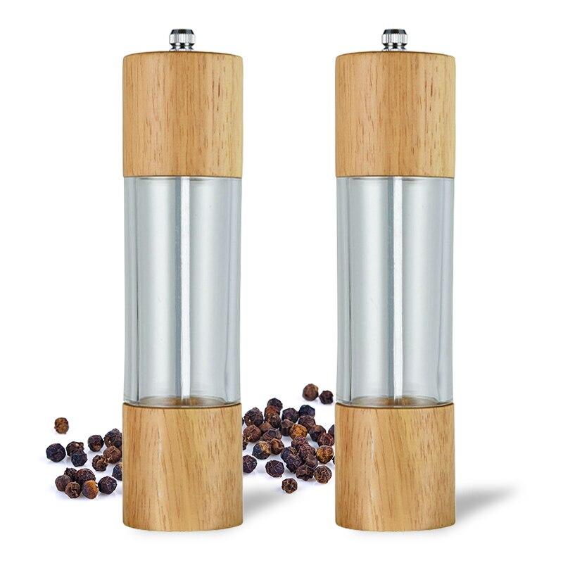 Assaisonnement Muller Manual Salt Pepper Mill Grinder Spice Gadget Pepper SHA LA