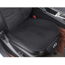 1 pc carro de pelúcia quente almofada do assento capa almofada de assento tapete para hyundai i10