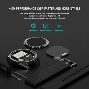 "Image 3 - Lerbyee GT105 フィットネストラッカー 1.22 ""心拍数モニター血圧スマートブレスレット男性女性天気スマート腕時計ホット販売 2019"