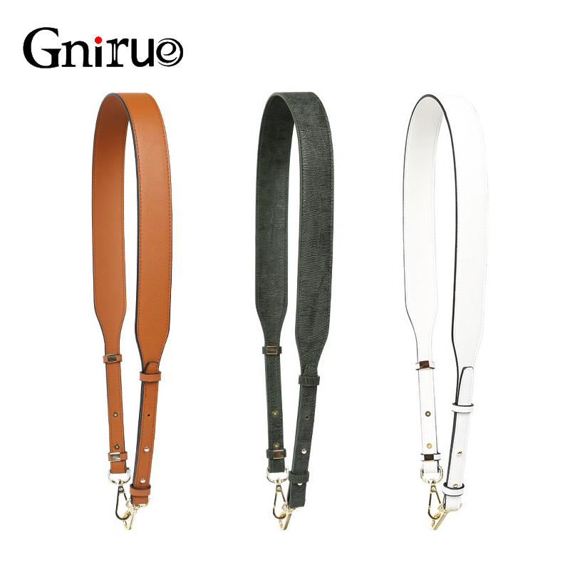 Adjustable Replacement Messenger Bag Belt Fashion PU Leather Shoulder Straps Accessories For Women Bags 109cm~117cm