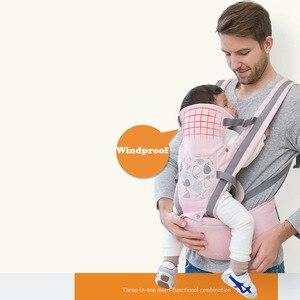 Image 3 - Ergonomische Baby Träger Infant Baby Hipseat Taille Träger Vorne Ergonomische Känguru Schlinge für Baby Reise 0 36M 20KG