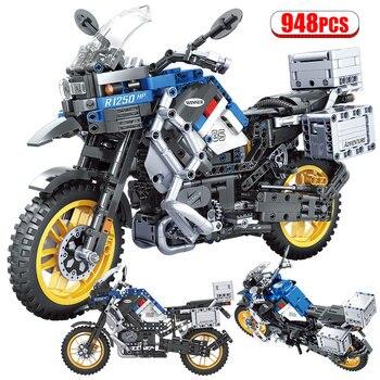 High-Tech Motorcycle Car Model  1