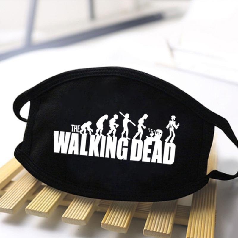 Male The Walking Dead Dustproof Masks 2020 Fashion Unisex Harajuku Masks Protective Antibacterable Masks Masque Man Women