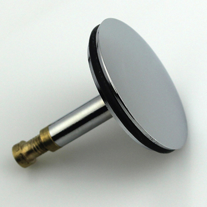 Bathtub Plug Replacement Bath Pop Up Waste Plug Only Flat Seal Brass Bathroom Tub Drain Drainer Strainer Bathroom Accessories