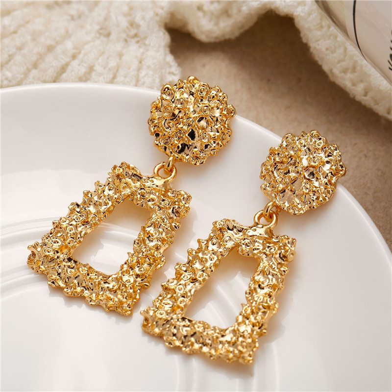 H5dd66a6eb3ed41dab6ae9d718752f3bdd - Hot Sale Gold Drop Earrings Jewelry Earrings For Women C Shaped Round Geometric Earring Female Fashion Jewelry Gifts