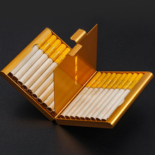 Hold 20 Cigarettes Case Cover Creative Folio Cigarette Case Smoking Box Sleeve Pocket Tobacco Pack Cover