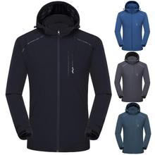Mens Autumn Jackets Casual Fashion Waterproof Quick-drying Breathable Sport Outdoor Coat Embroidery Outwear Clothing