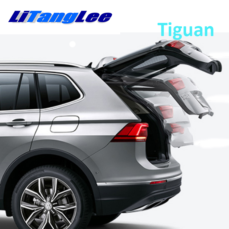 LiTangLee Car Electric Tail Gate Lift Trunk Rear Door Assist System Remote Control Trunk Lid For Volkswagen Tiguan 2007~2017