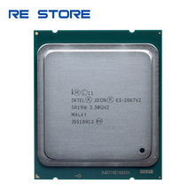 Usato Intel Xeon E5 2667 v2 3.3Ghz 8Core 16 Fili 25MB di Cache SR19W 130W Processore