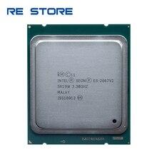 使用インテルxeon E5 2667 v2 3.3ghz 8 コア 16 スレッド 25 メガバイトのキャッシュSR19W 130 ワットプロセッサ