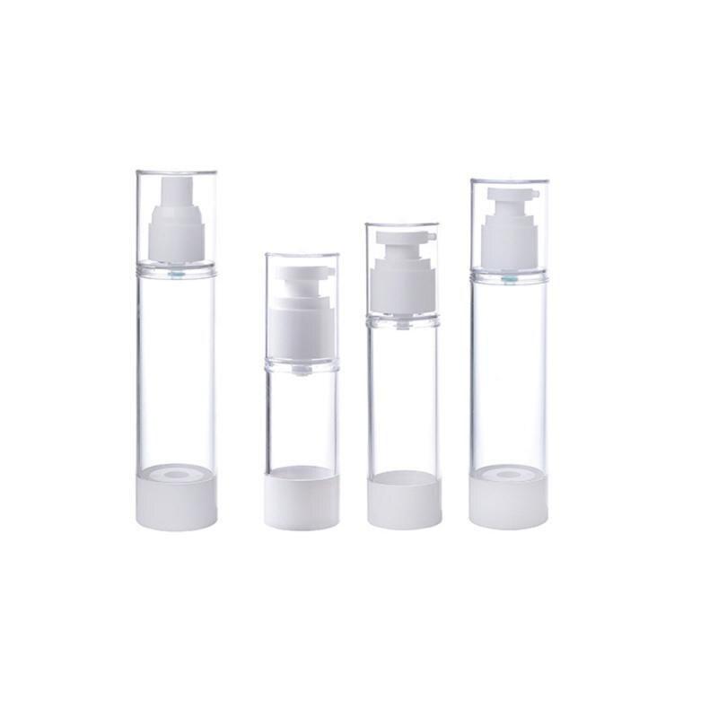 30/50/100 мл, герметичная Вакуумная бутылка для косметики, прозрачная портативная