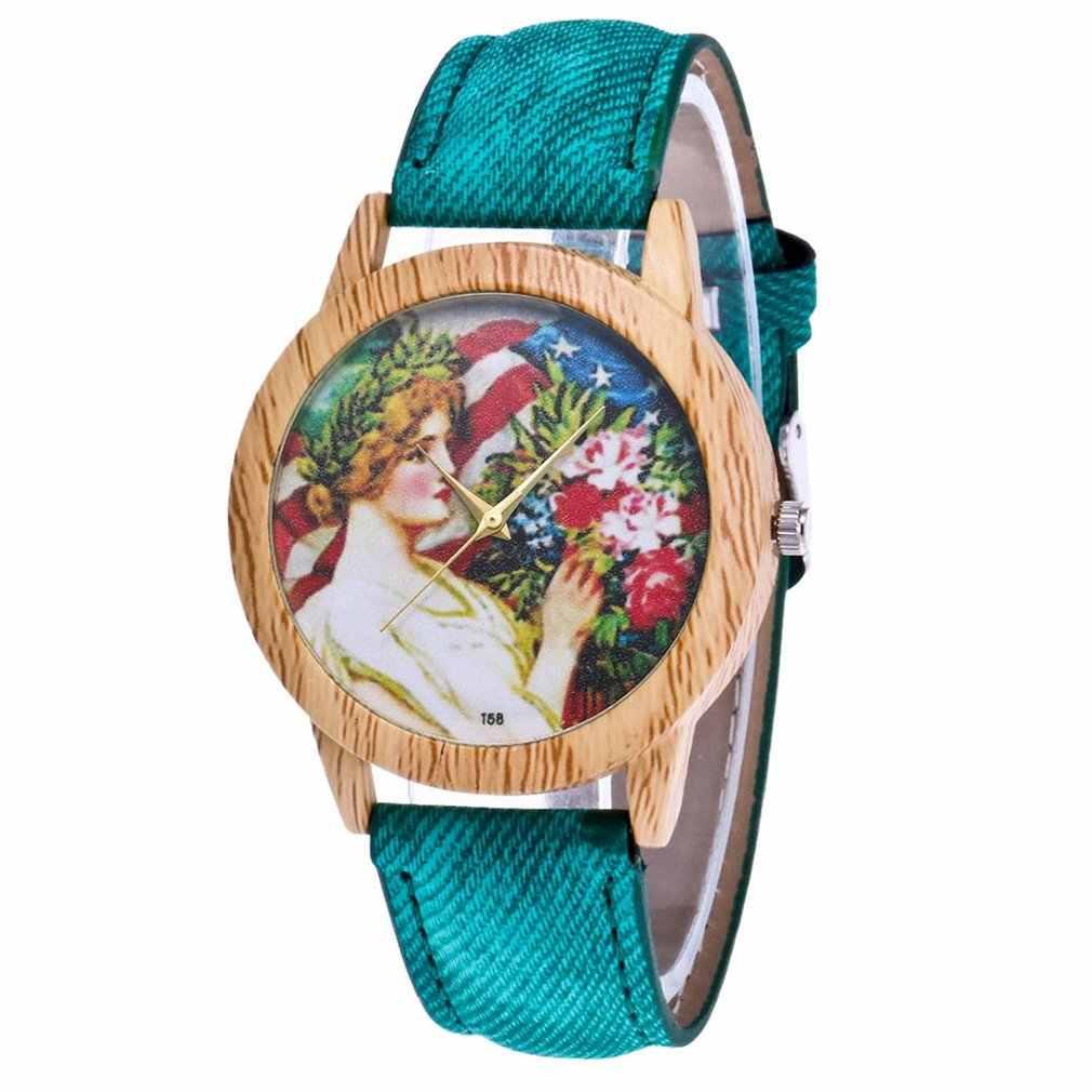 วัยรุ่นสาวหรูหราแฟชั่น Denimr สายคล้องราคาถูกผู้หญิงควอตซ์นาฬิกาผู้หญิงของขวัญวาเลนไทน์ 2018 Montre สร้อยข้อมือกีฬานาฬิกาข้อมือ