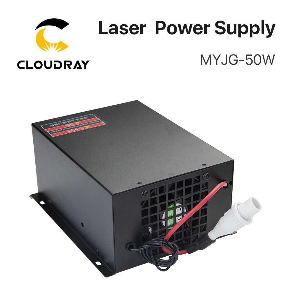 Cloudray 50 Вт CO2 лазерный источник питания для CO2 лазерной гравировки резки MYJG-50W категории