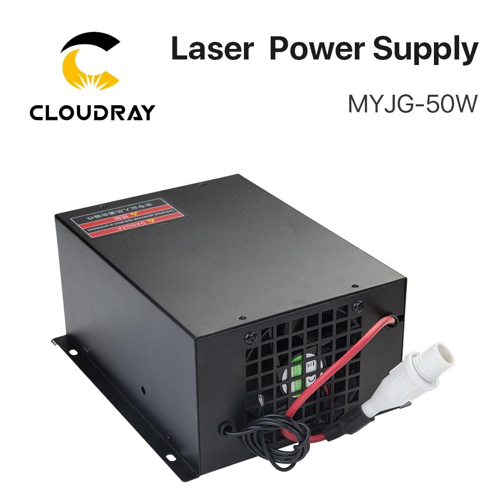 """""""Cloudray 50W CO2 lazerinis maitinimo šaltinis CO2 lazeriu - Medienos apdirbimo mašinų dalys - Nuotrauka 3"""
