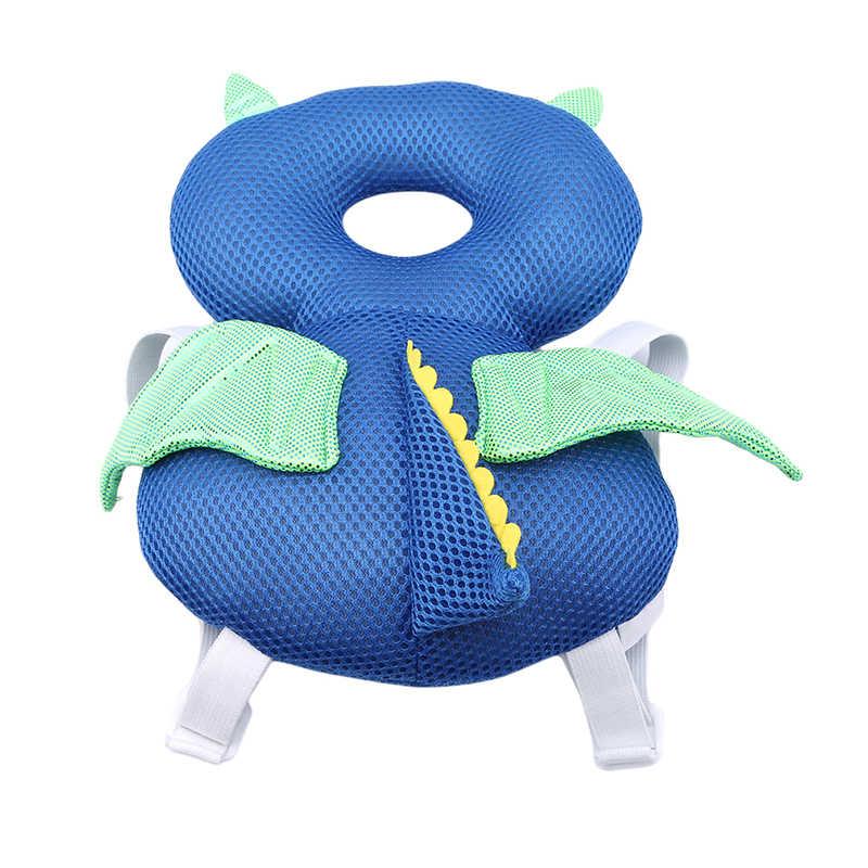 Nueva almohadilla de protección para la cabeza del bebé almohada transpirable para bebé pequeño resistente a los golpes reposacabezas suministros para seguridad de bebés Pilow