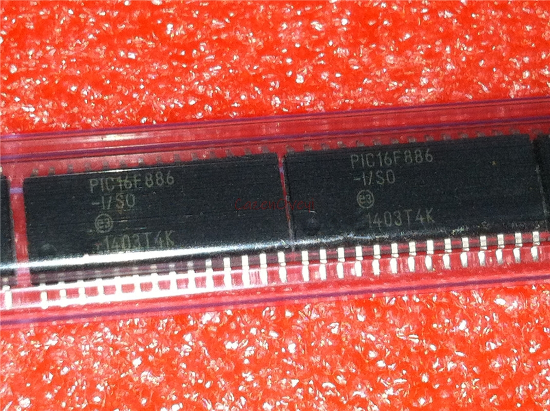 5pcs/lot PIC16F886-I/SO PIC16F886 SOP-28 In Stock