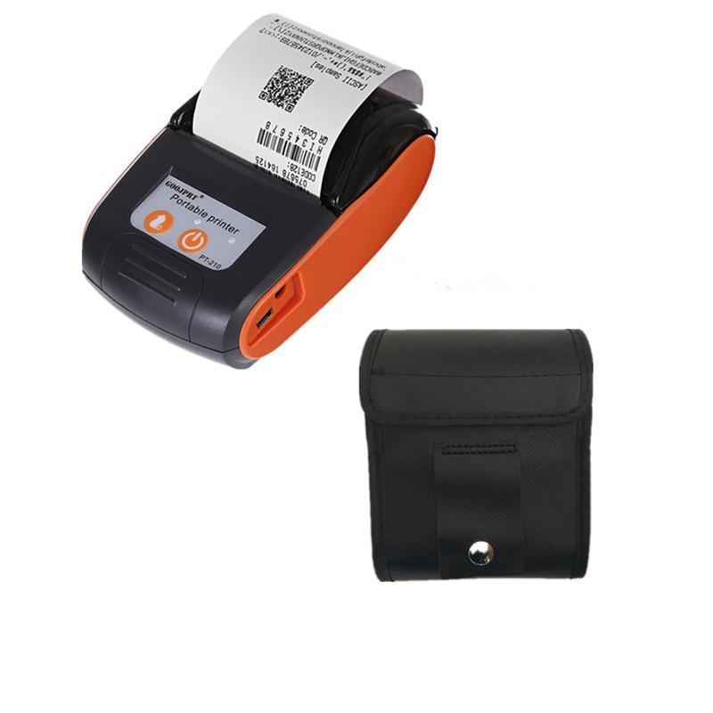 GOOJPRT Bluetooth Wireless Mini Thermische Erhalt Ticket Drucker für Mobile Bill Maschine Drucker Impresora Recibo Weihnachten Geschenke