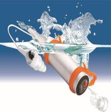 Impermeabile MP3 Player Fm Radio Auricolare per Il Nuoto Immersione Subacquea Sport MP3 Giocatore di Musica 4G/8G Opzionale con La Scatola Al Minuto
