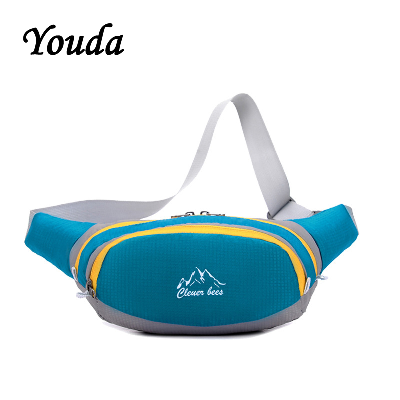 Youda Fashion Chest Bag Casual Waterproof Outdoor Pocket Unisex Large Capacity Sports Solid Messenger Bags Oxford Travel Bale