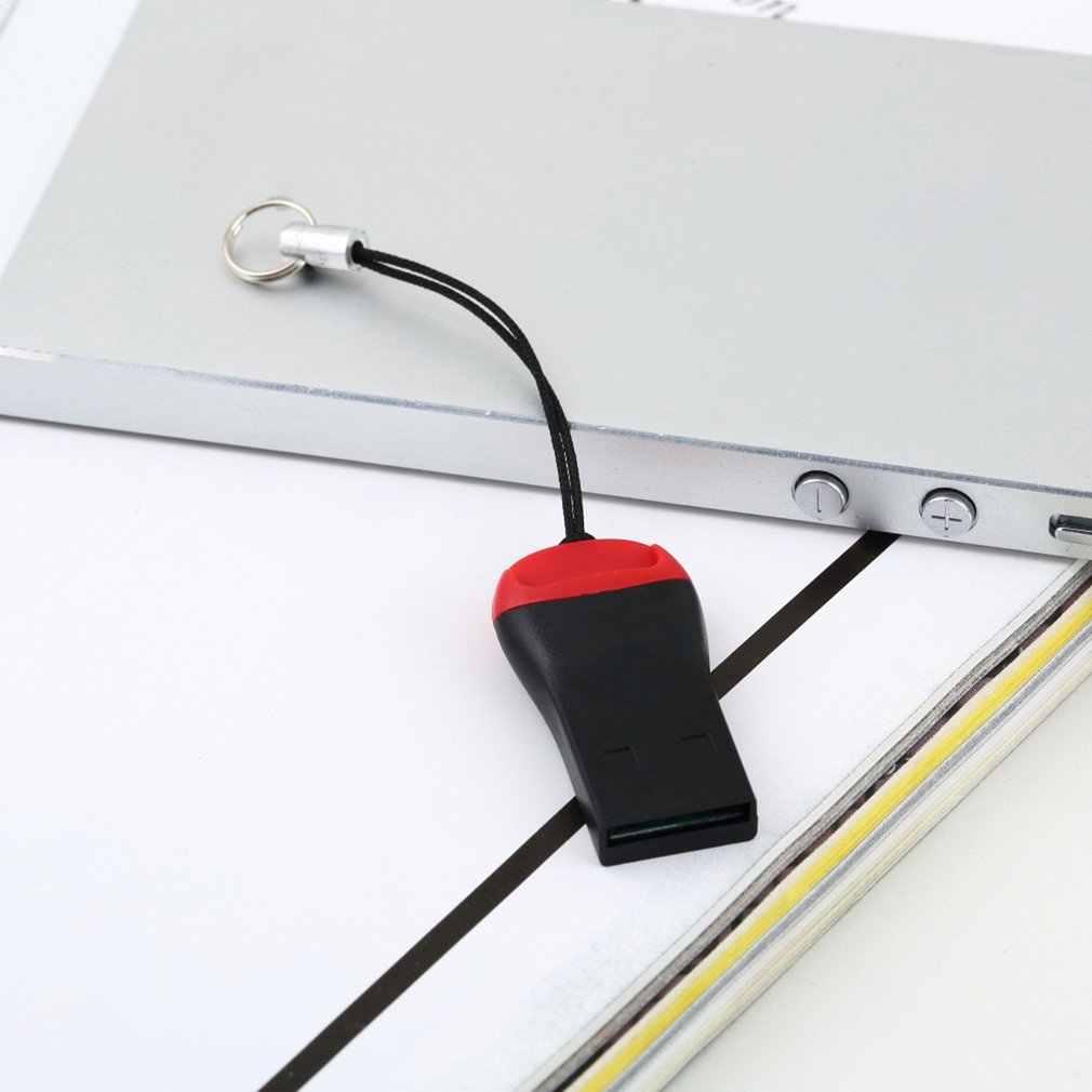 Lectores de tarjetas USB 2,0 Micro SD SDHC tarjeta de memoria flash TF lector Mini adaptador para ordenador portátil lector de tarjetas alta calidad velocidad nuevo