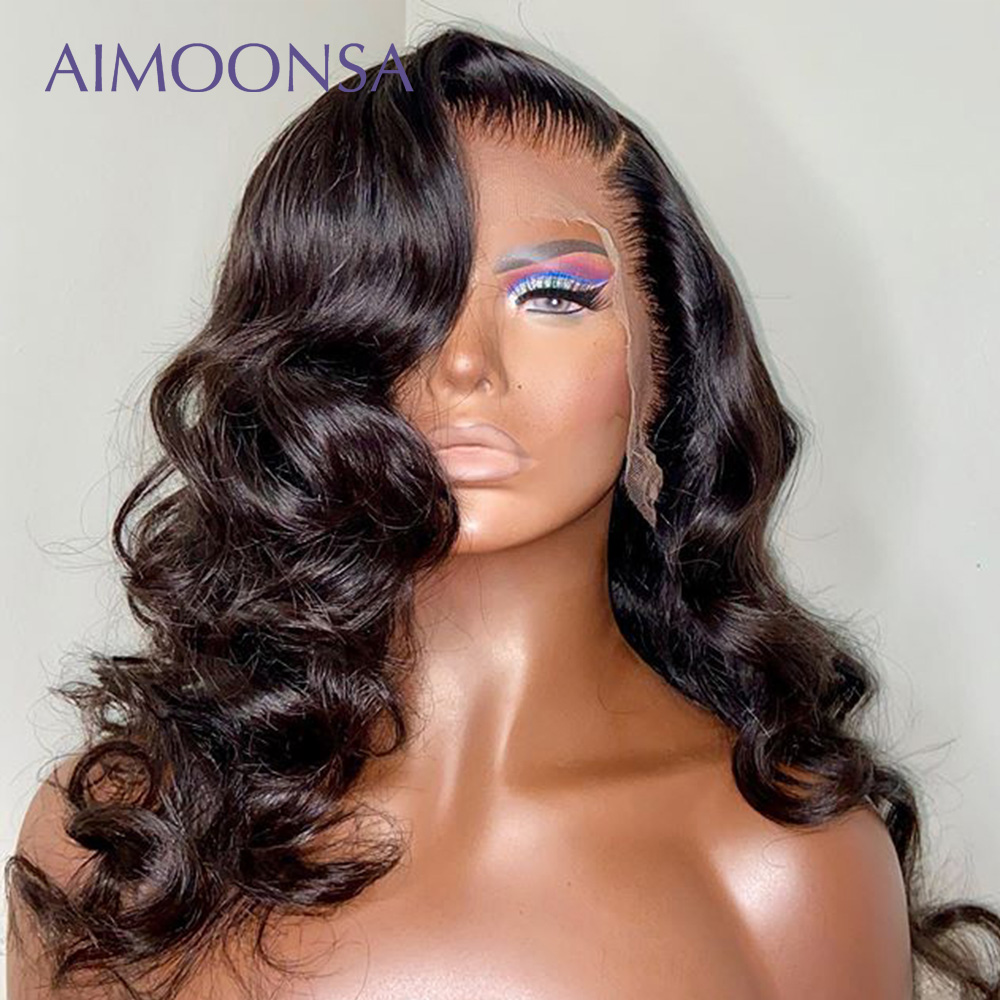 150% Density Lace Front Hair Wig Body Wave Hair 13×6 Lace Front Wig Glueless Wig Pre Plucked With Baby Hair Brazilian Hair Remy