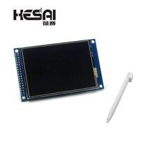 液晶 3.2 インチ TFT タッチスクリーンモジュール表示超 HD ILI9341 ため STM32 240 × 320 240*320 のための arduino の Diy キット