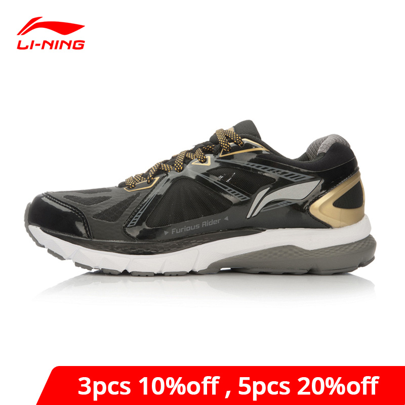 Li-Ning Men FURIOUS RIDER Running Shoes NO CHIP TUFF OS Stability Sneakers PROBAR LOC LiNing Li Ning Sport Shoes ARHL043 XYP424