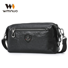 Wmnuo 2020 Cow Genuine Men Bag Soft Small Shoulder