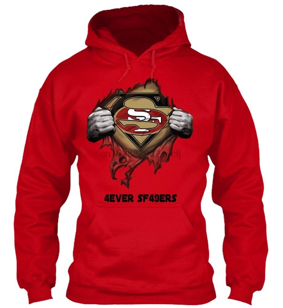 Long Sleeve 4ever 49er(3) Men Women Streetwear Hoodies Sweatshirts