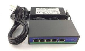 Image 4 - 5.0MP 4.0MP 3.0MP 2.0MP 4CH IP izleme kiti IP kapalı tavan Dome kamera 48V PoE anahtarı NVR CMS XMEYE P2P bulut plastik