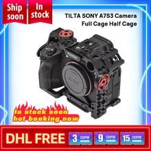 W magazynie TILTA SONY A7S 3 kamera pełna klatka pół klatka podstawowy lekki profesjonalny zestaw-czarny dla SONY a7s iii a7s3