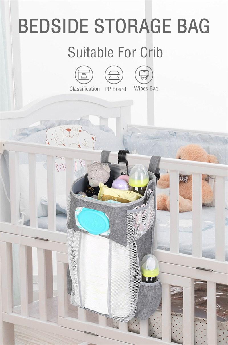 Crib Hanging Storage Bag Caddy